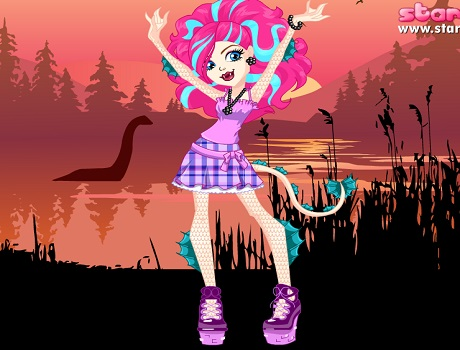 Lorna McNessie stilusa Monster high játék