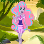 Honey Swamp öltöztetős Monster high játék