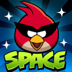 Space battle Angry Birds játék