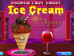 Ice cream Monster high játék